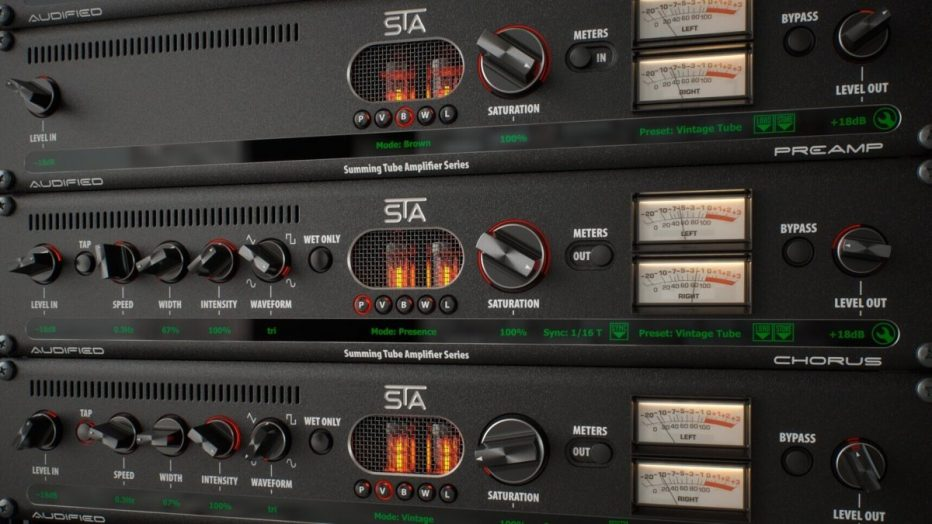 Audified announces 50% discount offer on STA Effects processing plug-in bundle and separately-available STA Preamp