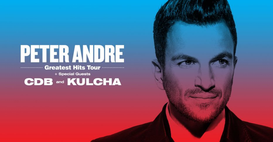 "Peter Andre Announces ""Greatest Hits"" Auckland Show with Special Guests CDB and Kulcha"