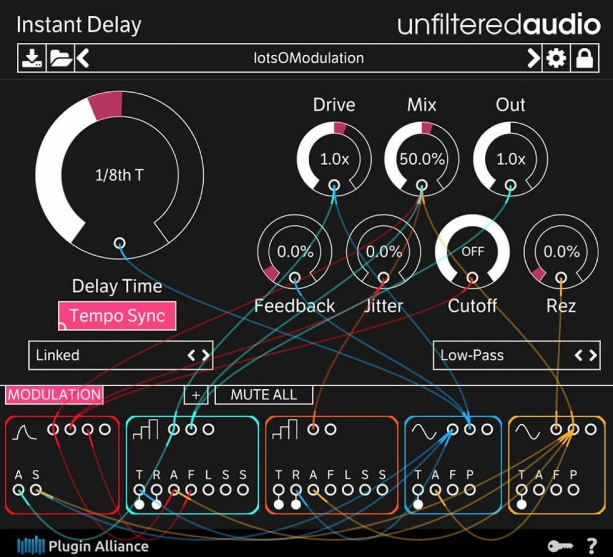 Unfiltered Audio announces availability of Instant Delay plugin exclusively from Plugin Alliance