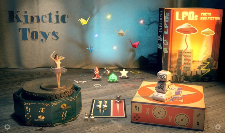 Native Instruments introduces KINETIC TOYS