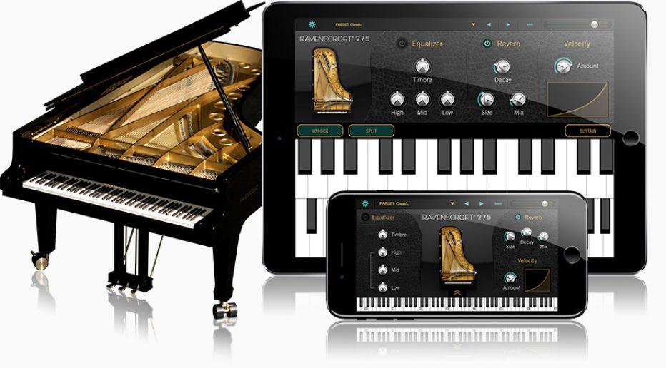 UVI AND VI LABS RELEASE RAVENSCROFT 275 PIANO FOR IOS
