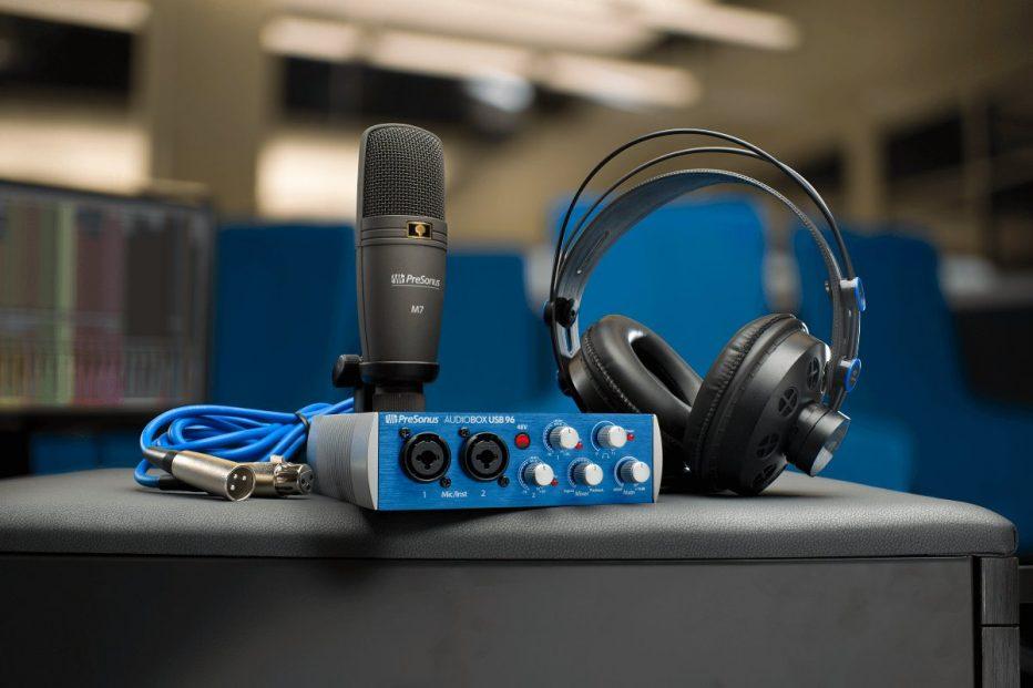 PreSonus Introduces AudioBox 96 Studio Recording Kit