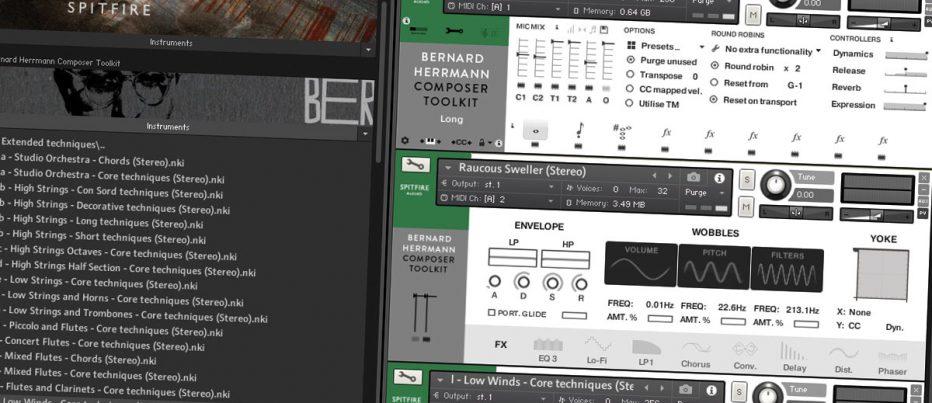 Spitfire Audio Bernard Herrmann Composer Toolkit - Music Nation