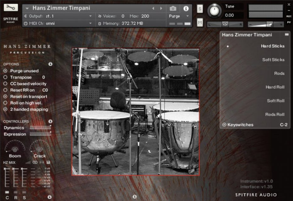 Spitfire Audio announces ultimate drum sample library with Hans Zimmer