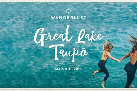 Tickets now on-sale for Wanderlust Great Lake Taupō!