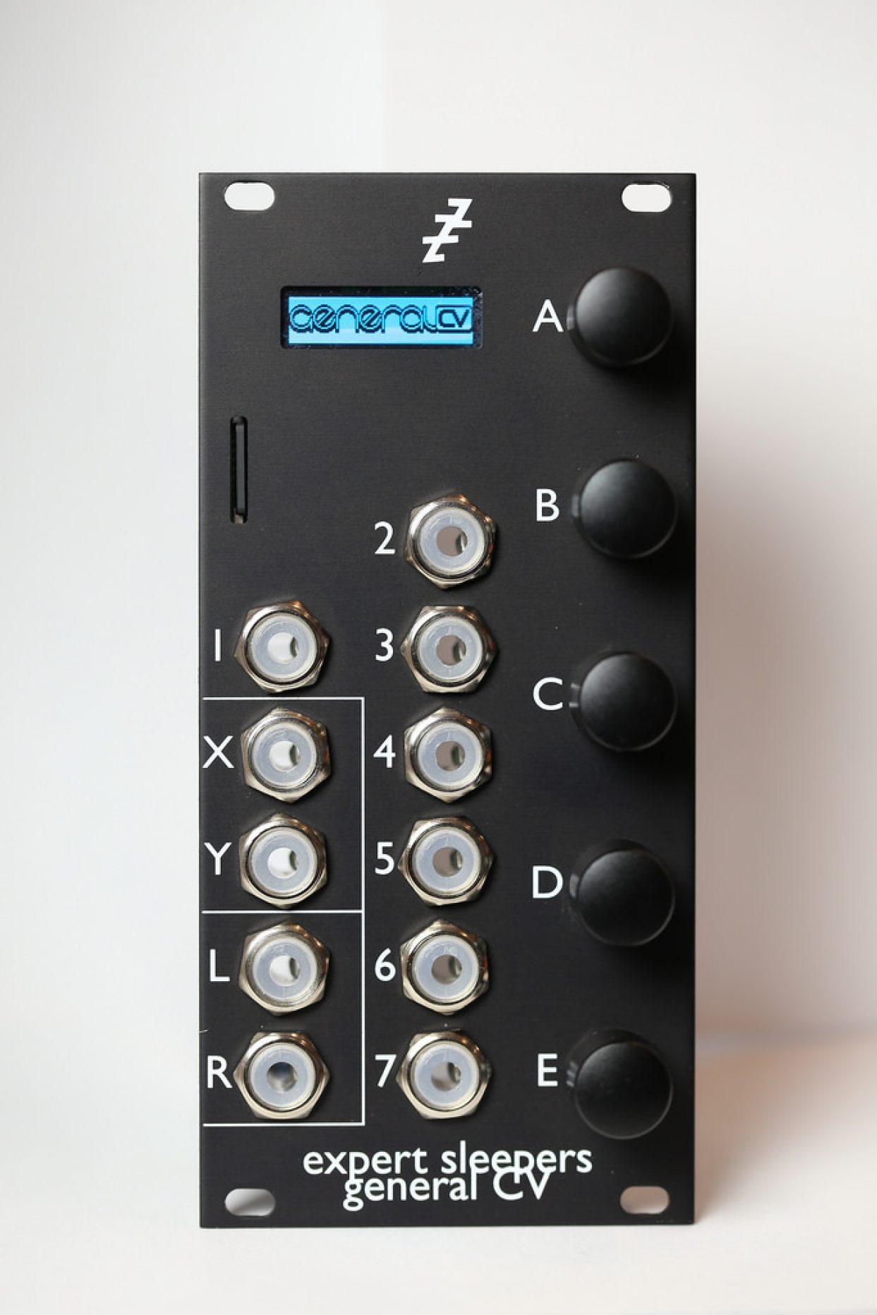 Expert Sleepers get General MIDI sound set under creative CV control in elegant Eurorack module