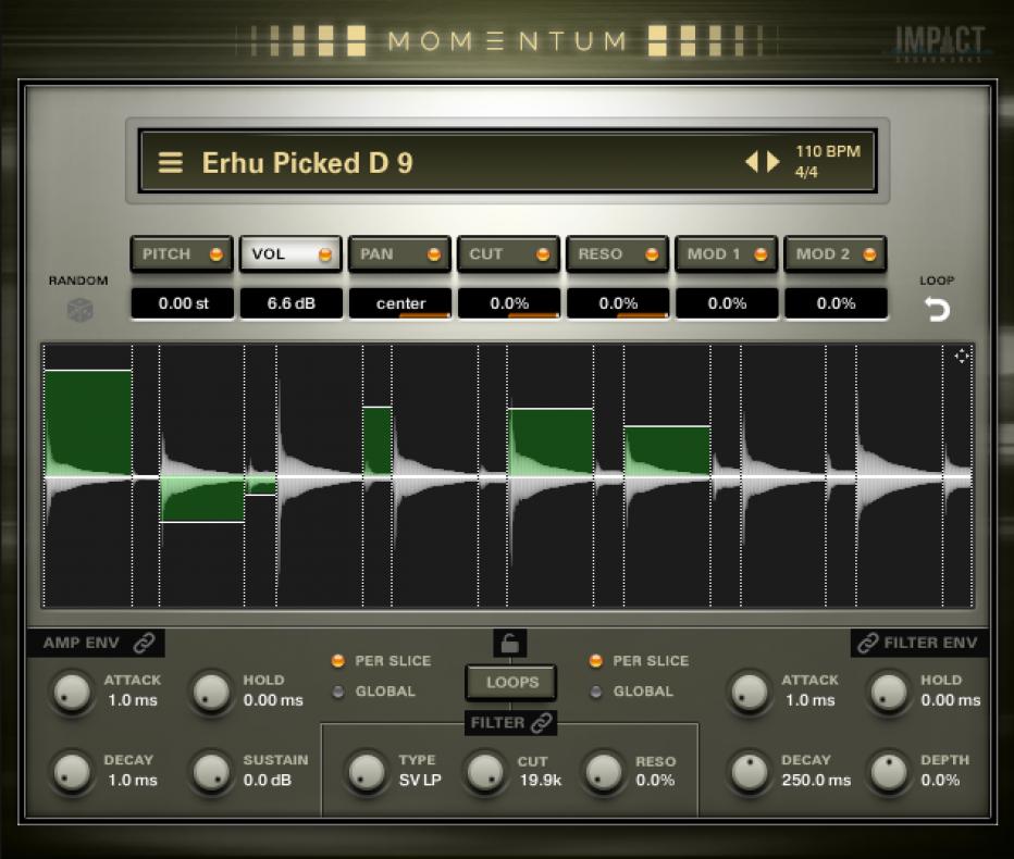 Impact Soundworks MOMENTUM: Percussive Sound Design