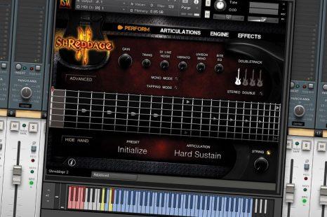 Impact Soundworks Shreddage 2 – Guitar Hero