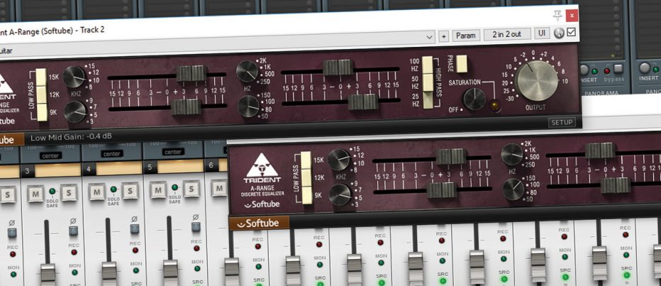 Softube Trident A-Range EQ – A Rare Breed