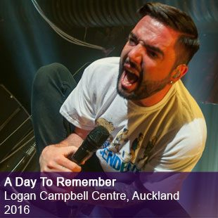 A Day To Remember live logan campbell centre