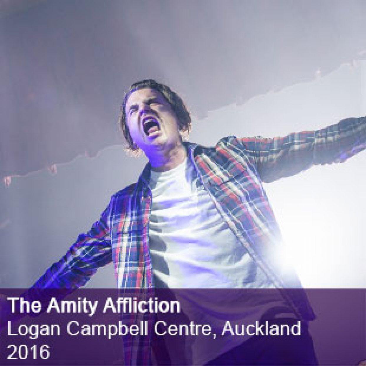 Amity Affliction Live Logan Campbell Centre