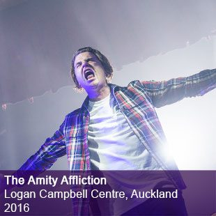 The Amity Affliction Live Logan Campbell Centre