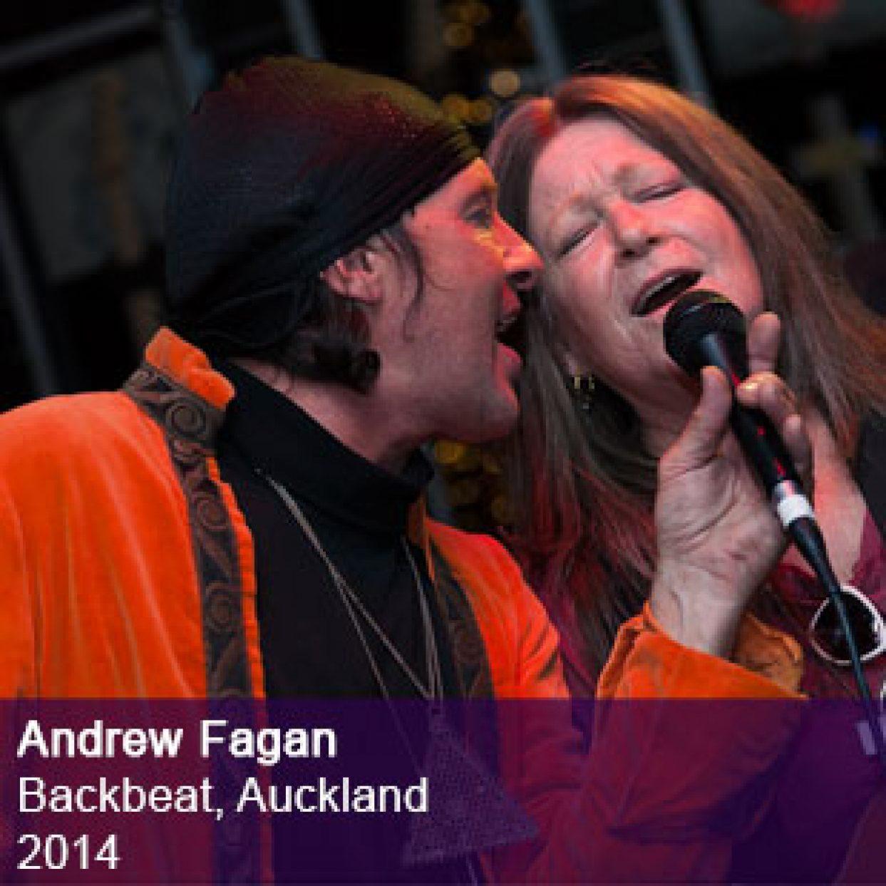 Andrew Fagan live