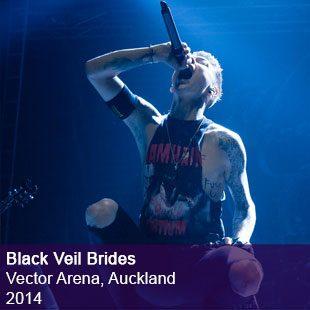 Black Veil Brides live