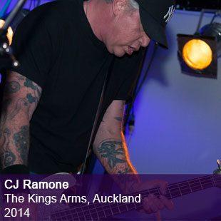CJ Ramone live