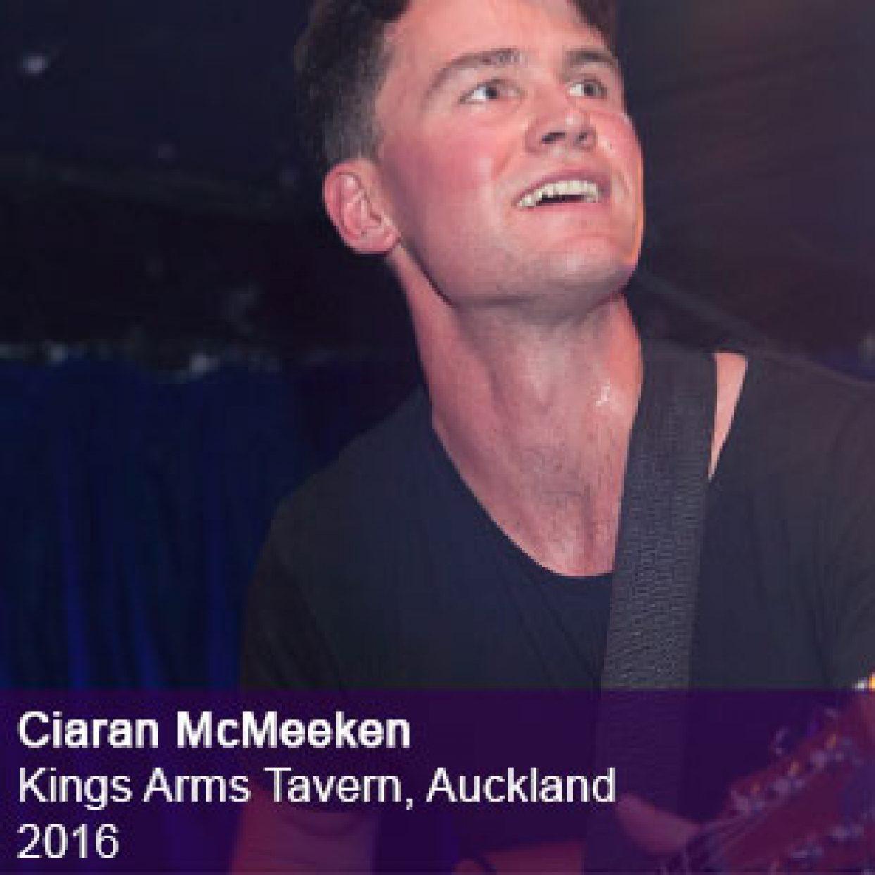 Ciaran McMeeken Live