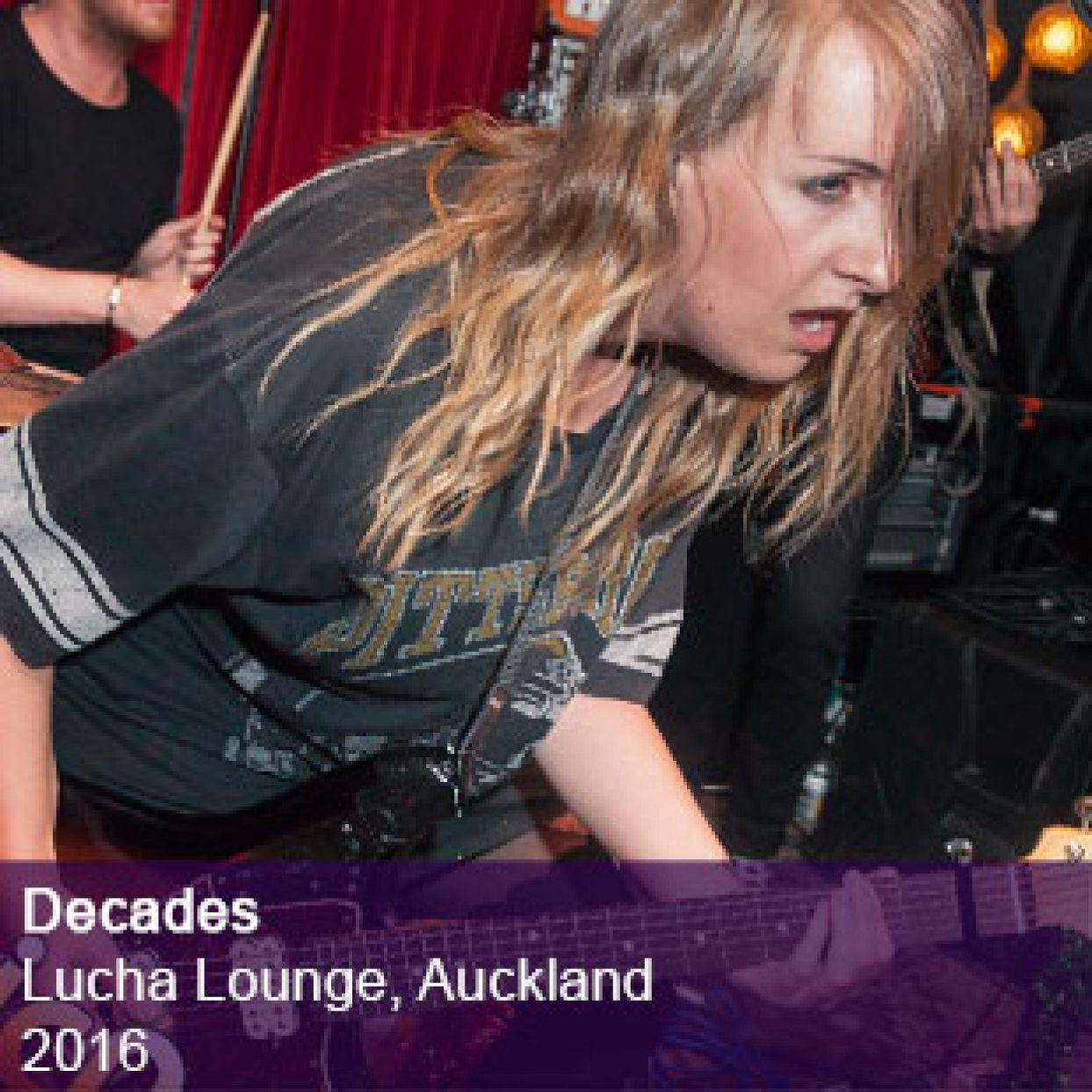 Decades live at Lucha Lounge