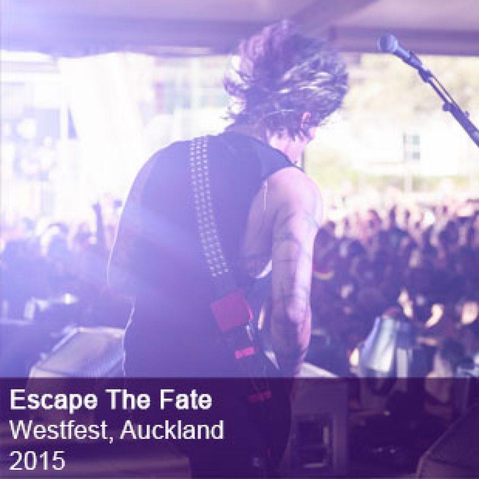 Escape The Fate live