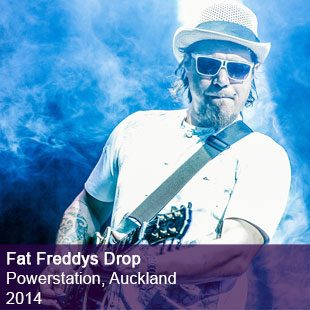 Fat Freddys Drop live
