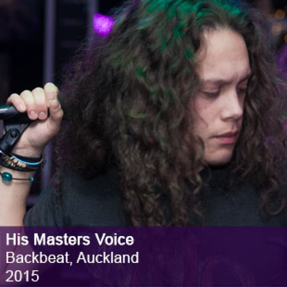 His Masters Voice live