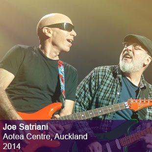 Joe Satriani live