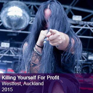 Killing Yourself For Profit Live