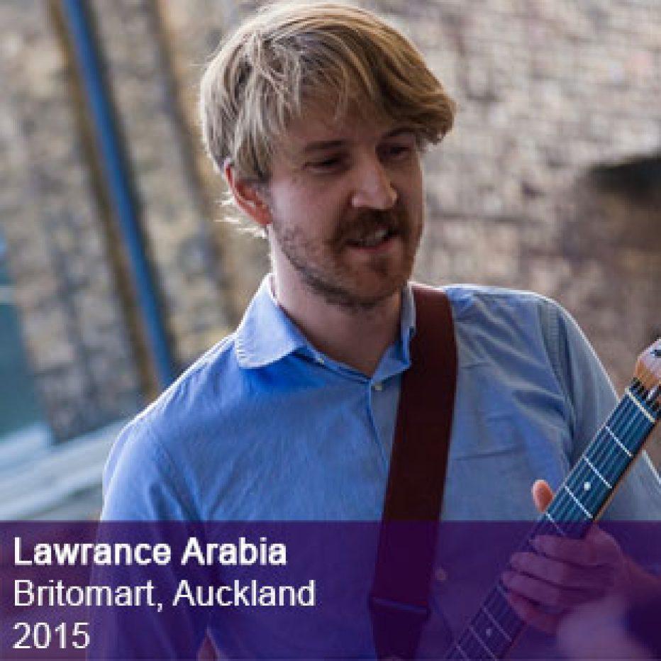 Lawrence Arabia live