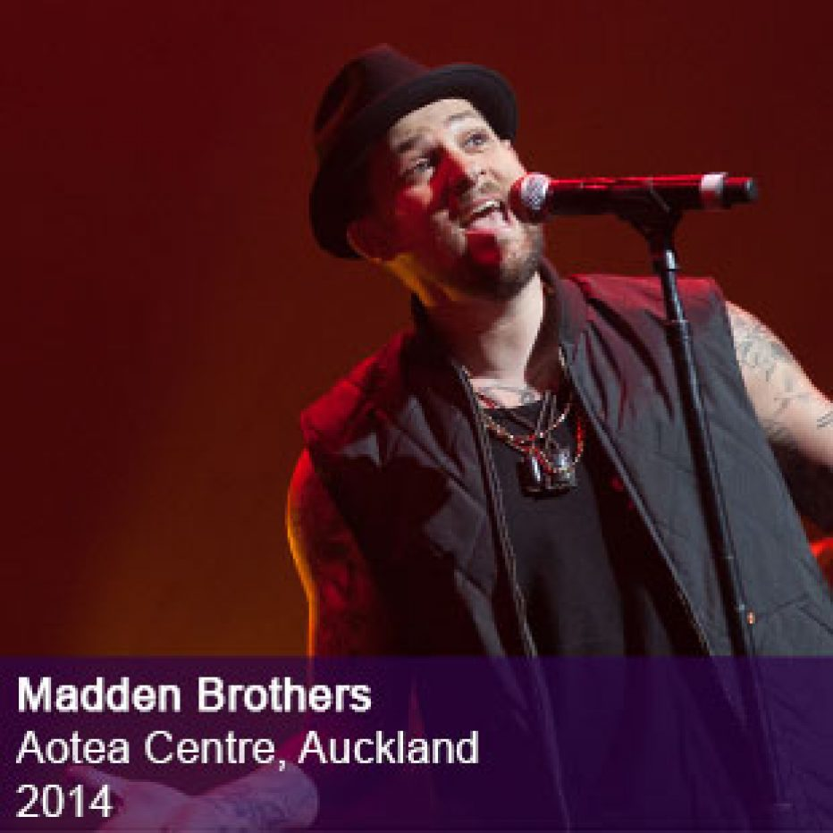 Madden Brothers live