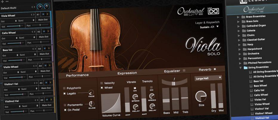 UVI Orchestral Suite - Lightweight Essentials - Music Nation