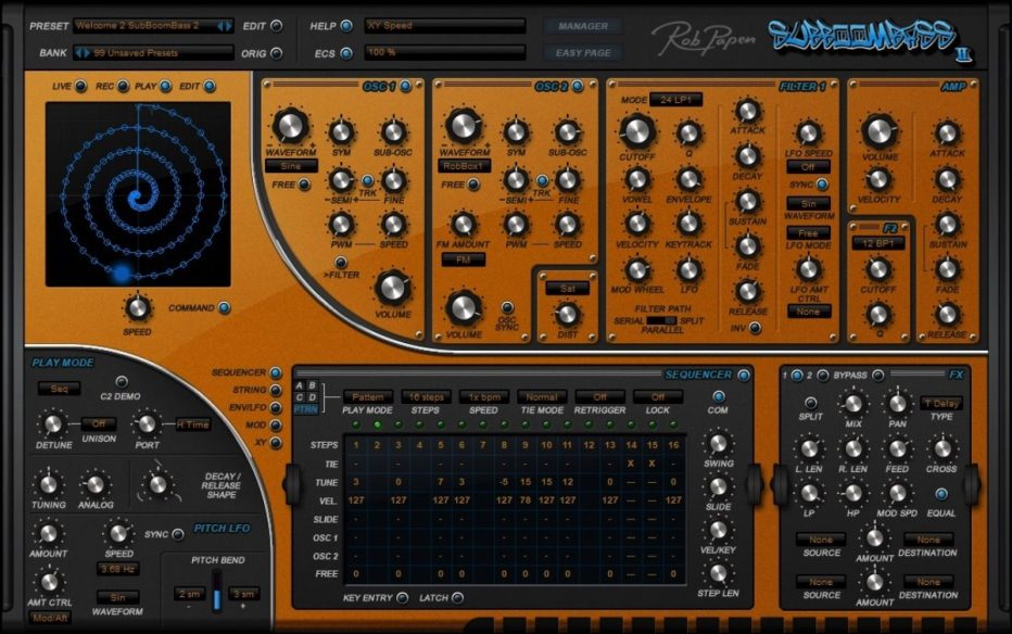 Rob Papen produces bigger booms and shake-shake-shake the rooms with SubBoomBass 2