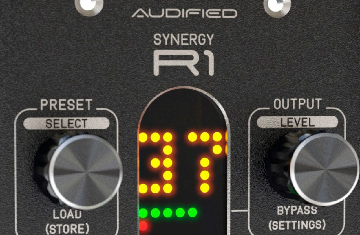 Audified announces availability of software/hardware hybrid digital/analogue SYNERGY R1 reverb for 500-series