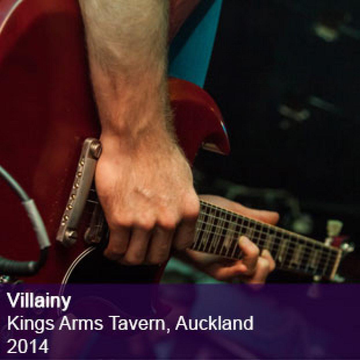 Villainy live Kings Arms