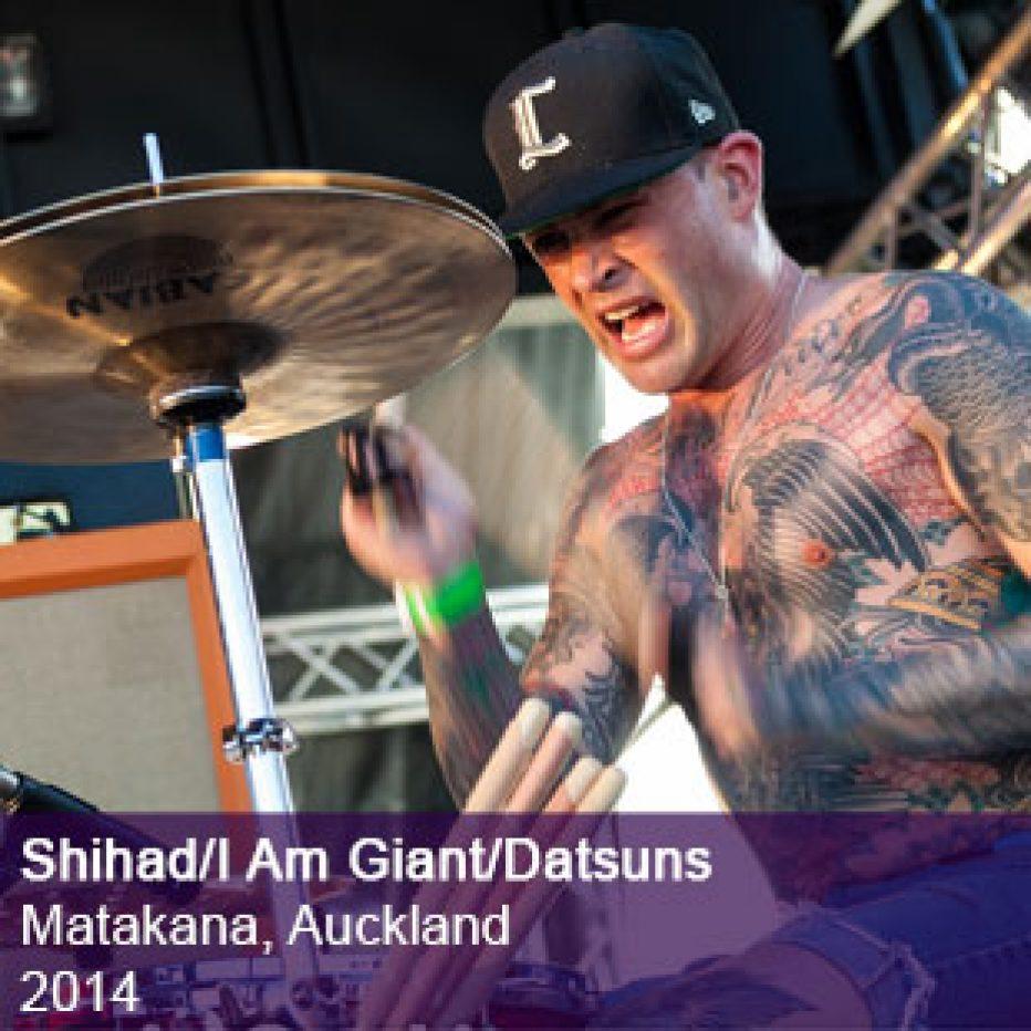 Shihad I Am Giant Live