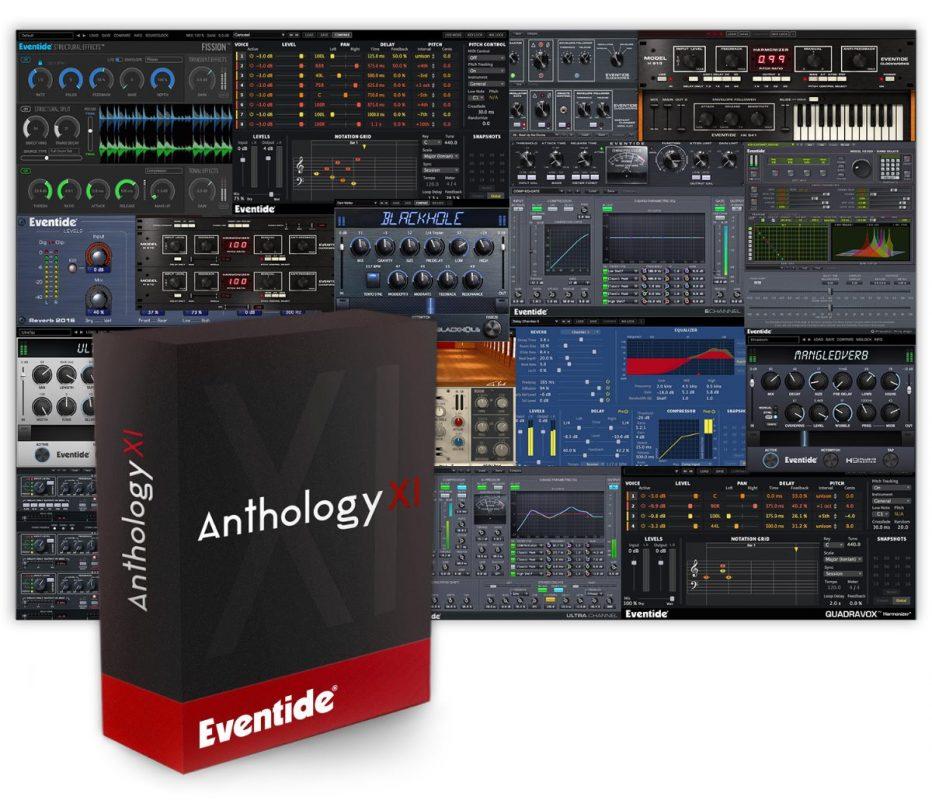 Eventide announces availability ofAnthology XIas 'everything' bundle breakthrough