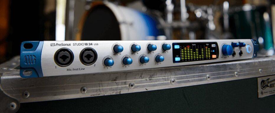 PreSonus Expands Studio-series USB Interface Line