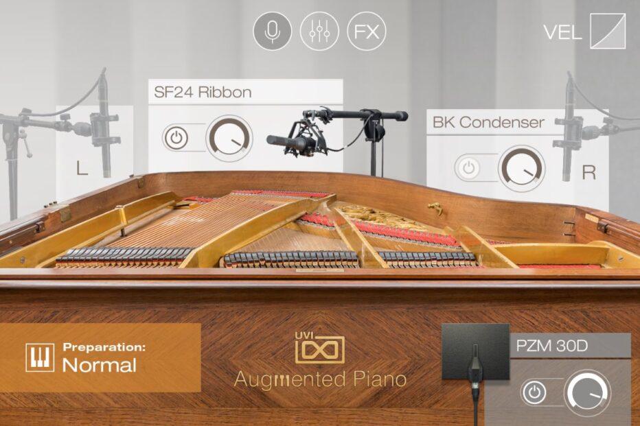 UVI releases Augmented Piano.