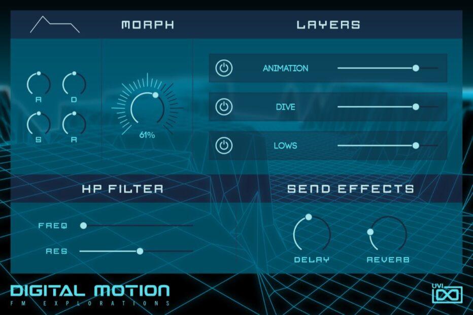UVI ANNOUNCES DIGITAL MOTION EXPANSION FOR FALCON