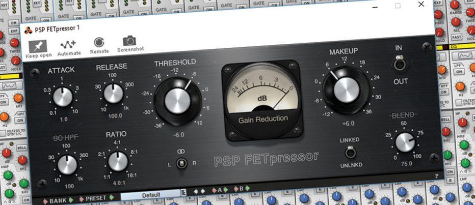 PSP Audioware FETpressor – Smart Essentials